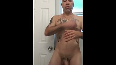 Freshly Showered Hung Male
