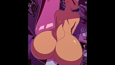 lopunny bouncing her bubble butt on her trainer's cock