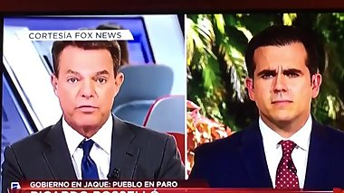 Fox News se clava a Ricky Rosello en vivo [HD]