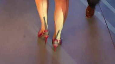 Fully Fashion Susan heel out and about