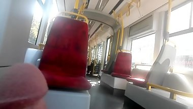 Cock flashing on public tram #BadWolfEntertainment