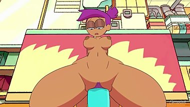Enid Riding Dildo - OK K.O.! Let's Be Heroes (Animation)