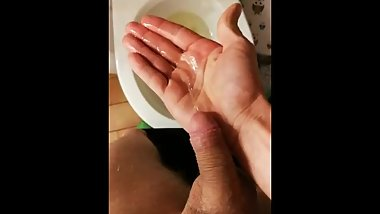 Pissing on my hand