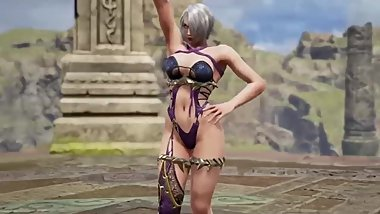 Soul Calibur VI Armor Breaks girls