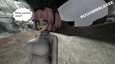 A Cave Collapse with Hibari