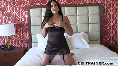 I want you to tell me how your cum tastes CEI