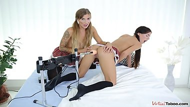 VIRTUAL TABOO - Fucking Machine For Dellai Twins