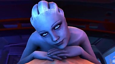 A Night with Liara - Quick E - Triple R