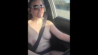 Driving Naked In Public