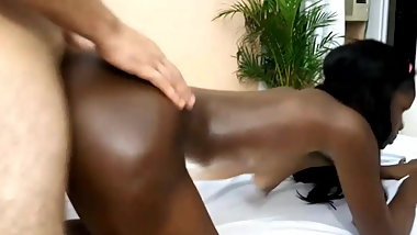 Interracial sex and cum