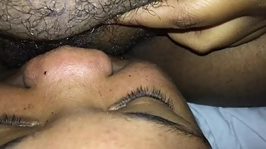 Licking my girlfriends juicy pussy