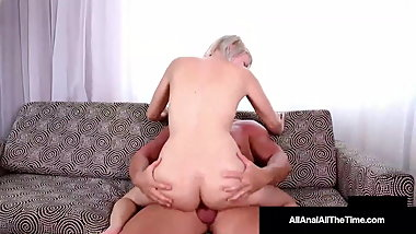 Anal Loving Olivia Kasady Ass Fucked, Gaped & Anal Creampied