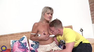 Taboo sex with hungry mature moms