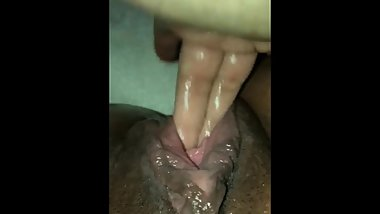 Making herself squirt