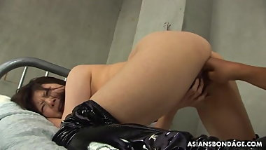 Eri Kitahara got spanked and fucked until she started scream