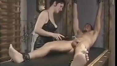 Electro cbt torture to slave