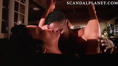 Cynda Williams Naked Scene from 'Mo' Better Blues' On ScandalPlanet.Com