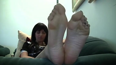 Anastasia Big Size 10 Candid Stinky Soles Part 15