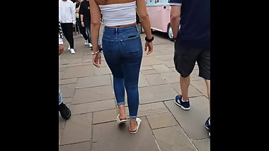 Ass - Jeans and great body