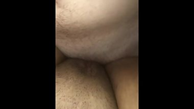 FIRST QUICK CREAMPIE! HOMEMADE