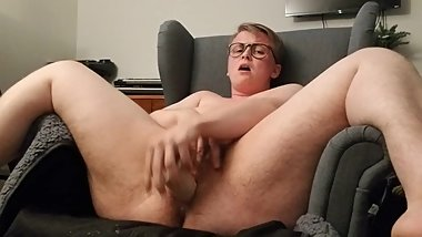 Part 2 FTM Squirt Show with Pulsing Orgasm