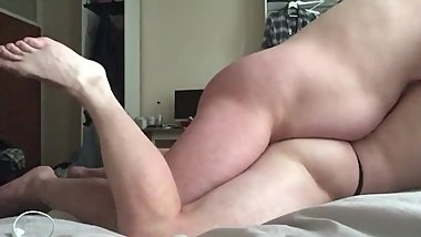 Chubby Bear Breeding His Muscle Sub Pig