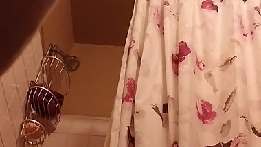 My Moms BBW Huge Fat Ass Shower Spycam (Please Comment)
