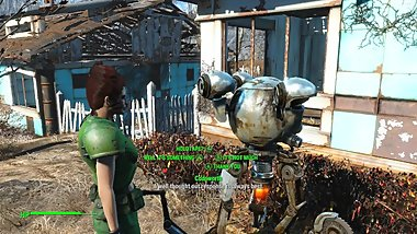 Talon Queen plays - Fallout 4 - part 2 - Modded edition