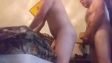 Daddy fucking me while moms at work