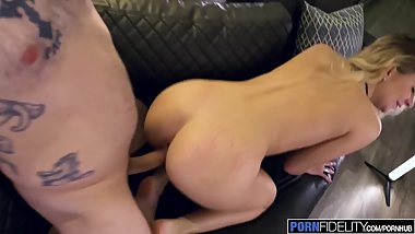 PORNFIDELITY Horny Landlord Accepts Riley Star's Pussy for Rent
