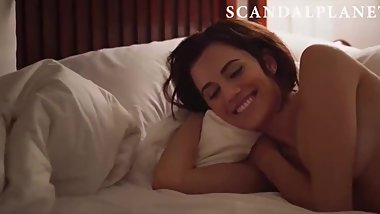 Allison Williams & Logan Browning Nude Lesbian Sex on ScandalPlanet.Com