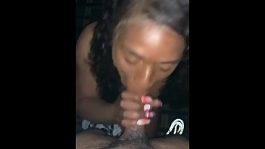 Sloppy Deepthroat slut