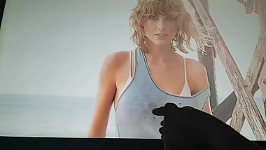 Taylor Swift Selena Gomez Cumtribute