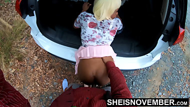 Big Booty Black Babe Step Daughter Fuck Hardcore Doggystyle