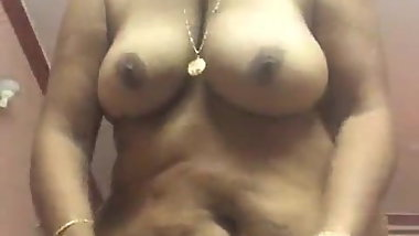 Desi aunty strip show