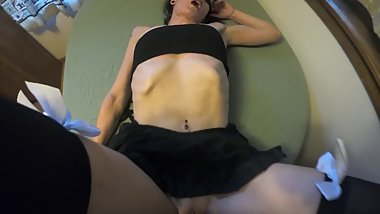 Sexy from the future, Hot submissive wife take it all.