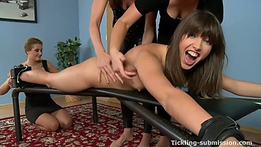 Czech Ticklish Girls Tickling Party