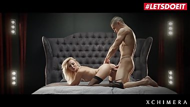 LETSDOEIT - Super Hot Teen Blonde Gets Her Fantasy SEX Session Come True
