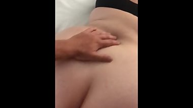 Drunk Girlfriend in Hotel Room