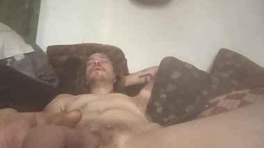 Healthy cumshot from POV giving a you facial.