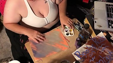 Boobs Ross — Sign Painting — Julyathon 9