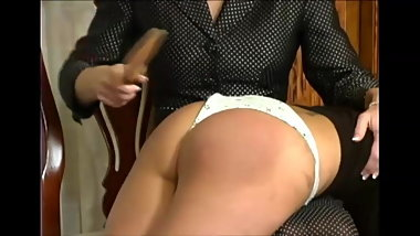 adorable cotton panties spanking wedgie