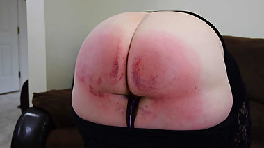 Caned For Breaking the Law! - (Spanking)