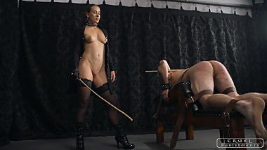 She is cruel today - trailer - Mistress Anette - Femdom