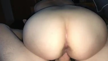 Gamer girl ass fuck POV