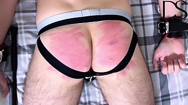 Slave Takes A Caning