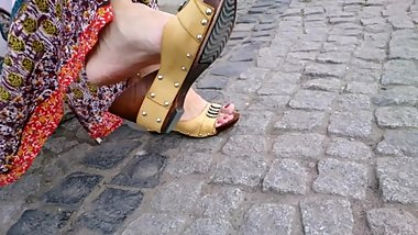 sexy feet in sandals