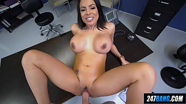 Latina Teacher in POV
