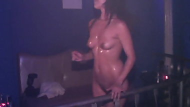 Nude girls at disco