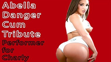 Abella Danger Pornstar Cum Tribute(Cum on video - CoV)